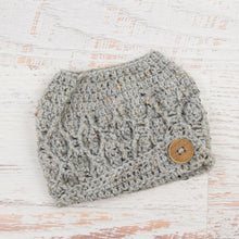 Load image into Gallery viewer, In-Stock The 'Dressy' Messy Bun Hat in Grey Marble