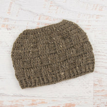 Load image into Gallery viewer, In-Stock The 'Everyday' Messy Bun Hat in Barley