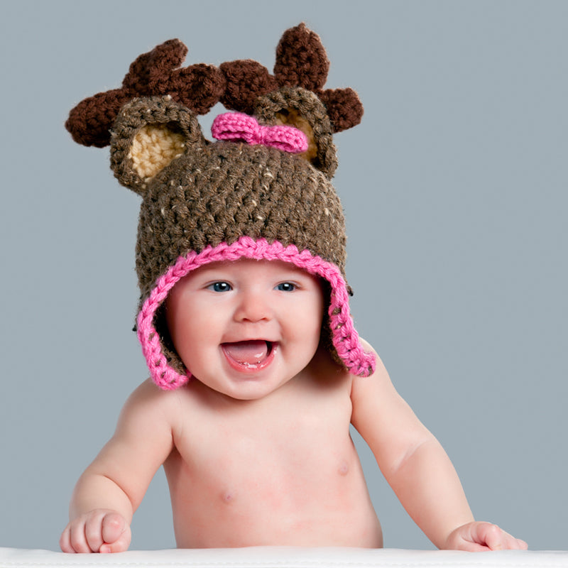 In-Stock 6-12 Month Girly Reindeer