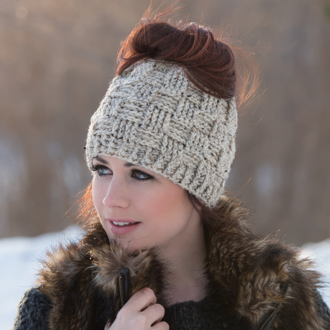 The 'Everyday' Messy Bun Hat