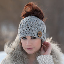 Load image into Gallery viewer, The 'Dressy' Messy Bun Hat