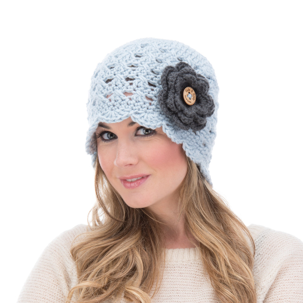 Scalloped Edge Beanie