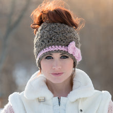 Load image into Gallery viewer, The 'Girly' Messy Bun Hat