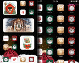 Christmas Aesthetic iOS 14 iPhone App Icons