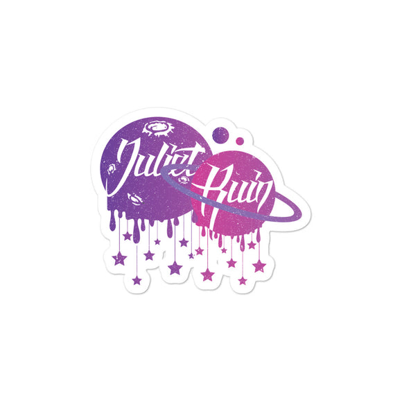 JULIET RUIN Bubble-free stickers