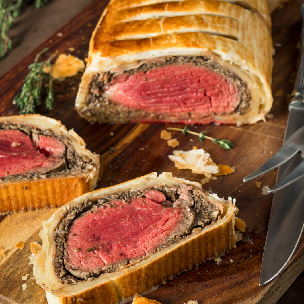Fillet of Beef Wellington (SERVES 2-3 PEOPLE)