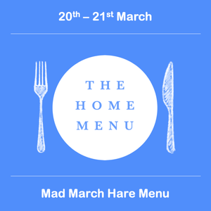 Mad March Hare Menu