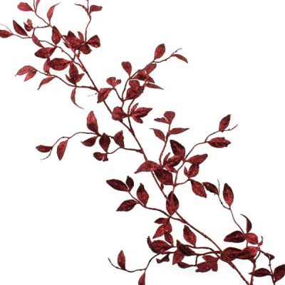 180cm Honeysuckle Garland Red