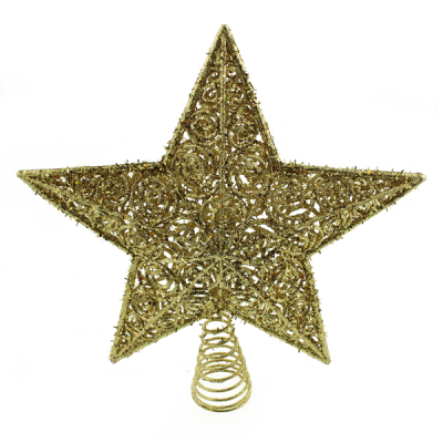 30cm Star Tree Topper Gold