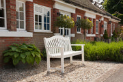 New England Turnberry 5' White Bench