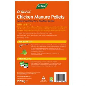 Fertilisers - Chicken Manure Pellets Organic 10kg