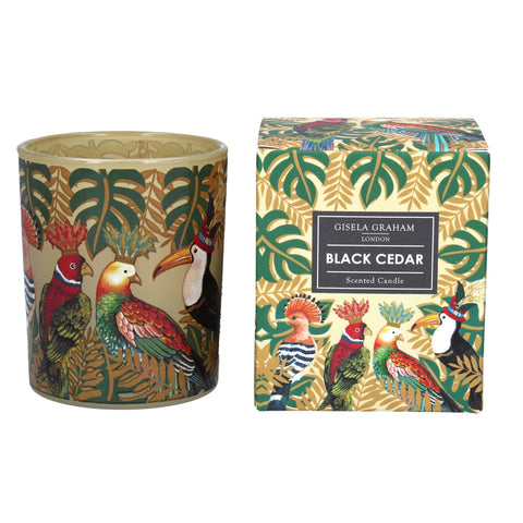 Gisela Graham Candle Boxed Regal Birds Small