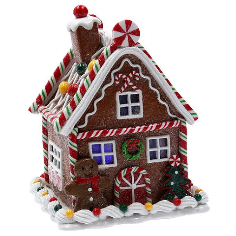 Gisela Graham Gingerbread Sweetie LED House