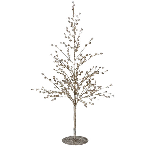Gisela Graham Tree Crystal Ornament