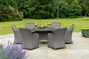 Hambrook Grand 6 Seater Oval Dining Set