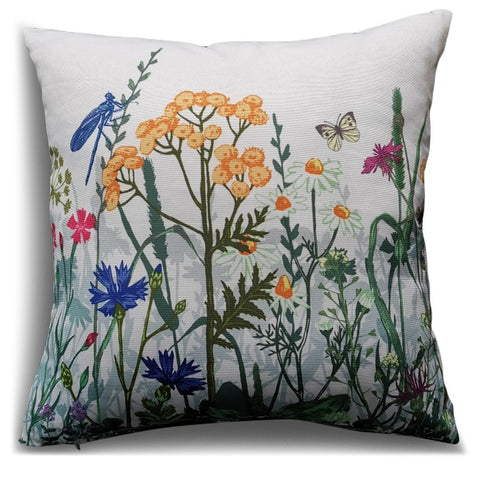 Summer Meadow Scatter Cushion