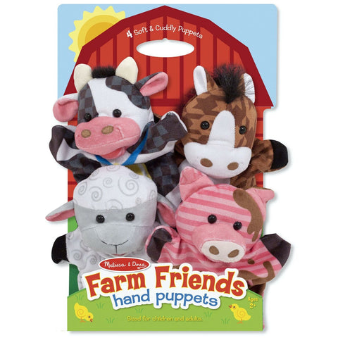 Melissa & Doug Hand Puppet Farm Friends