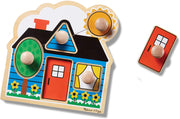Melissa & Doug Peg Puzzle First Shapes