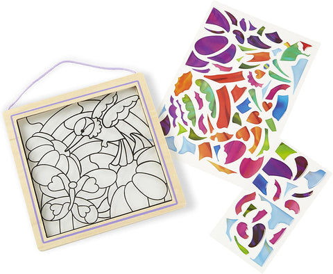 Melissa & Doug Stained Glass Rainbow Garden