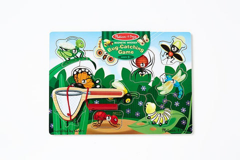 Melissa & Doug Wooden Game Magnetic Bug-Caterpillar