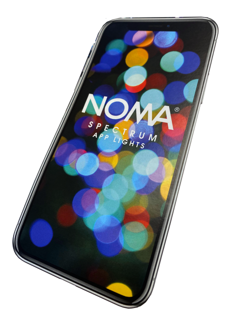 Noma Lights Spectrum App Cont Strin Lights 360