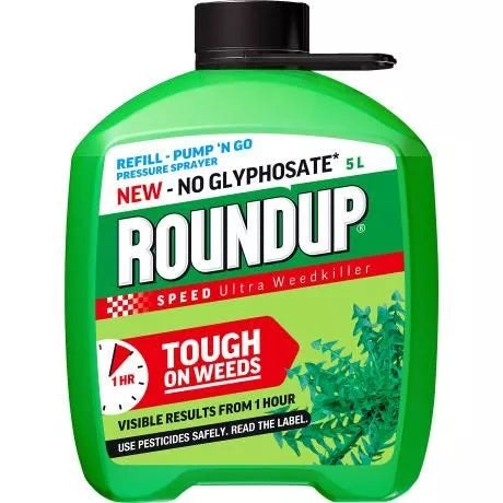 Roundup Speed Ultra No Glysophate Refill 5L