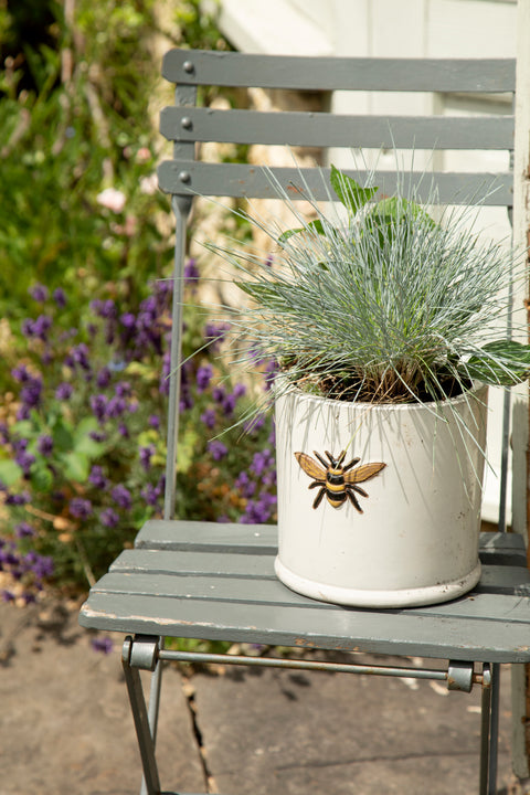 Wisteria Bee Pot
