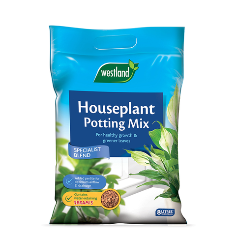 Westland Houseplant Potting Mix Enriched With Seramis 8L