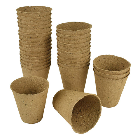 Grow It Fibre Pots Round