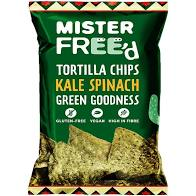 Mister Freed Tortilla Chips Kale & Spinach