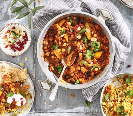 Cook Frozen Food - Vegetable & Chickpea Tagine