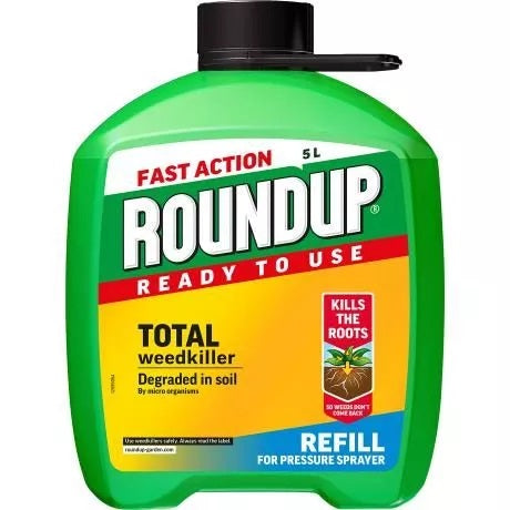 Roundup Weedkiller Pump And Go Refill 5L