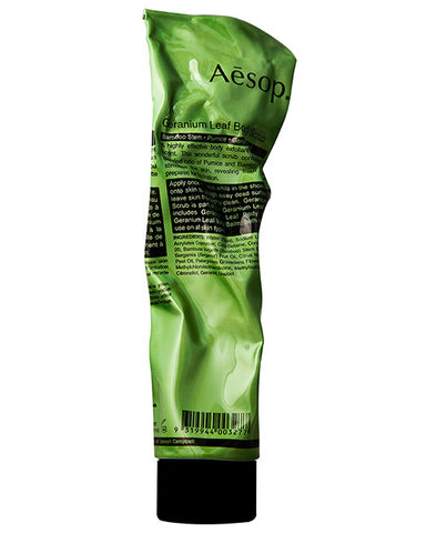 Aesop Geranium leaf Body Scrub 170 ml