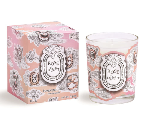 Scented candle Rose Delight 190 gr