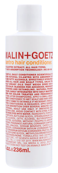 Cilantro hair conditioner