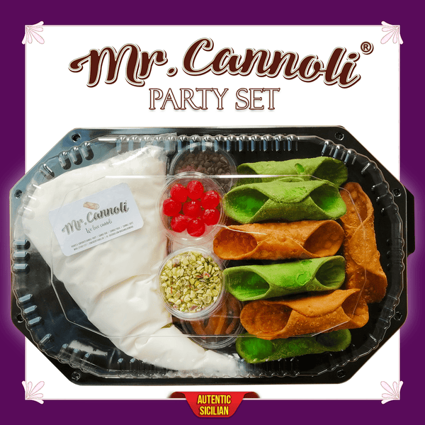 Mr. Cannoli® Party Set - 100 Bucati - Cannoli.ro