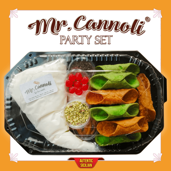 Mr. Cannoli® Party Set - 20 Bucati - Cannoli.ro