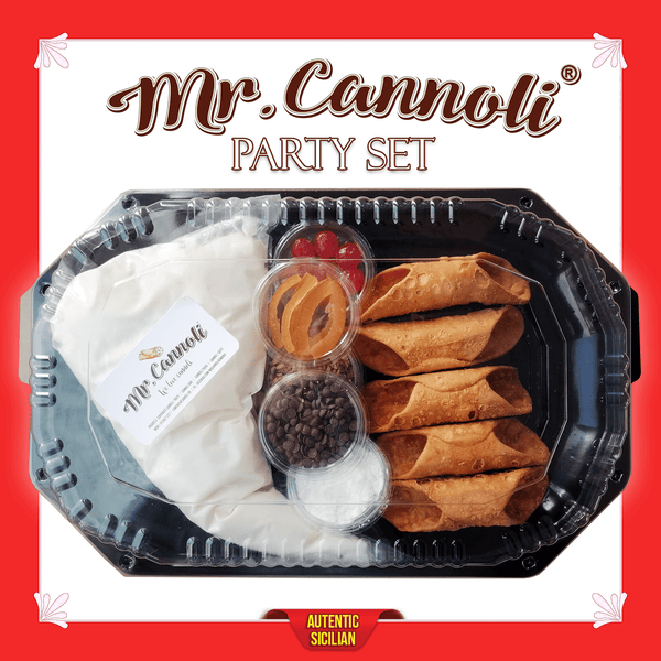 Mr. Cannoli® Party Set - 5 Bucati - Cannoli.ro