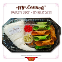Mr. Cannoli® Party Set - 10 Bucati