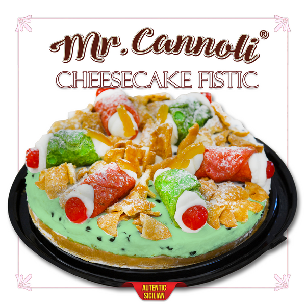 Mr. Cannoli® Ricotta Cheesecake Fistic