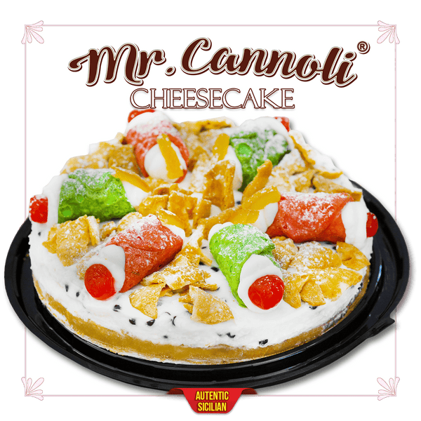 Mr. Cannoli® Ricotta Cheesecake - Cannoli.ro