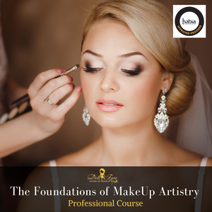 The Foundations of Professional MakeUp Artistry - Private Course