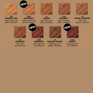 MILANI 2-IN-1-FOUNDATION +CONCEALER swatches 2