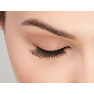 Ardell Natural Lashes 117 on closed eye