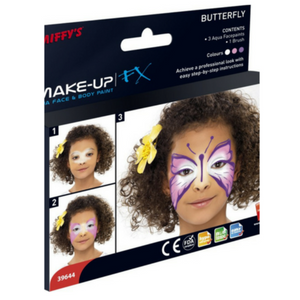 Smiffys Butterfly Face & Body Paint