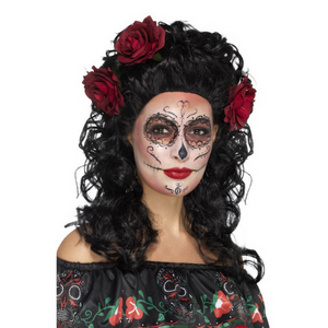 Smiffy's DELUXE DAY OF THE DEAD WIG