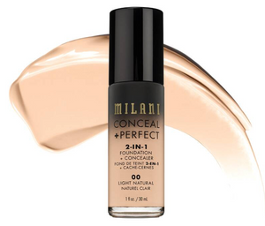 MILANI 2-IN-1-FOUNDATION +CONCEALER 14A Golden Toffee