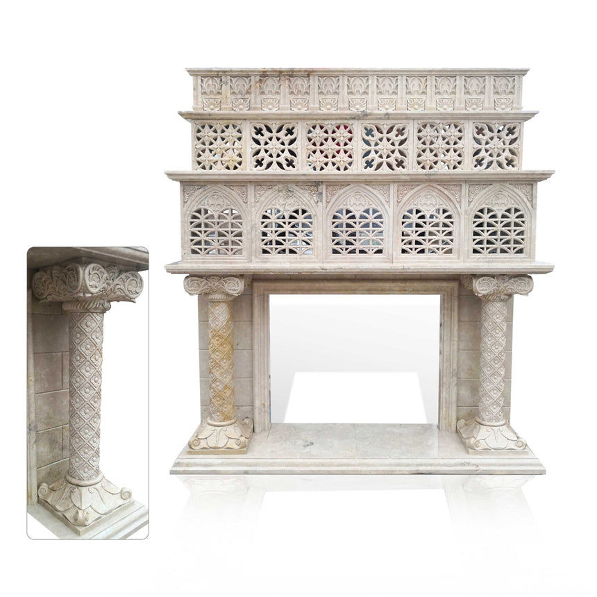 8 Ways to Make Your Vintage Marble Fireplace a Romantic Rendezvous