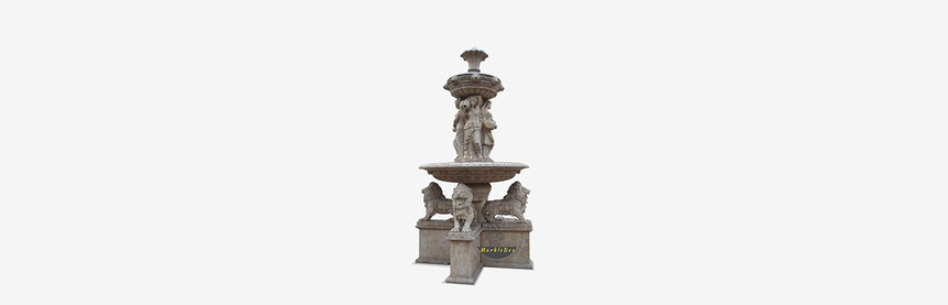 Stone Fountain-A tale of three fountain