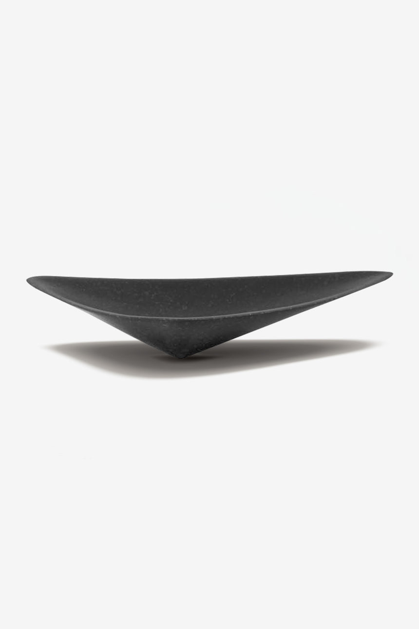 Black Marble basin, Contemporary design triangle shape thin craft stone basin vanity top